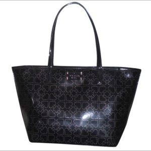 Late Spade Harmony Patent Leather tote